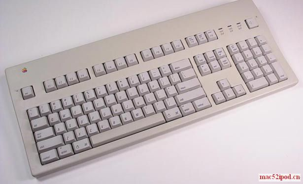 苹果电脑Apple Extended Keyboard - 1990 键盘