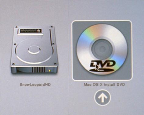 苹果电脑开机时选择启动盘