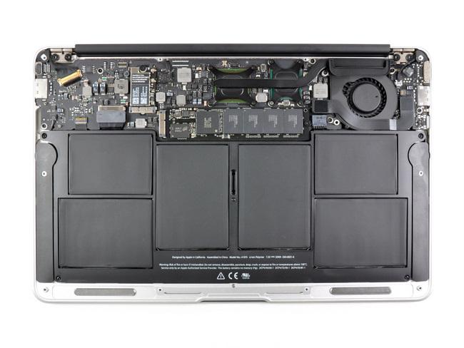 11寸苹果 Macbook Air笔记本电脑内部结构一览