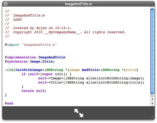 苹果 QuickLook 代码高亮插件:QLEnscript