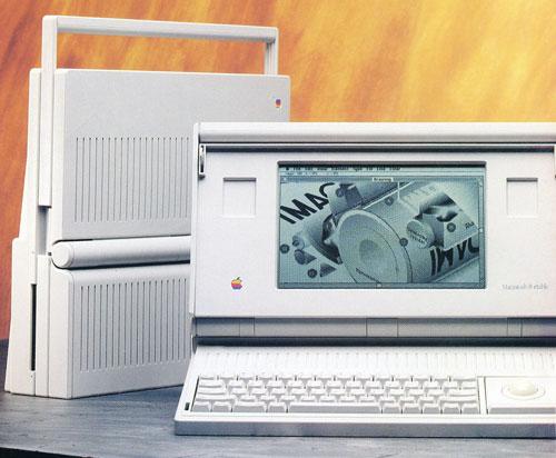 第一台苹果笔记本电脑:Macintosh Portable