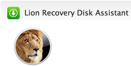 苹果 Mac OS X Lion 系统恢复盘助理