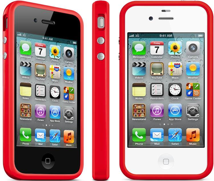 苹果 iPhone Bumper - (PRODUCT) RED