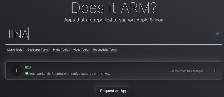 Does it ARM
